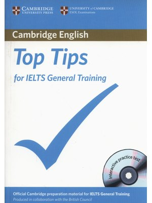 Top Tips for IELTS General, Training Paperback with CD-ROM