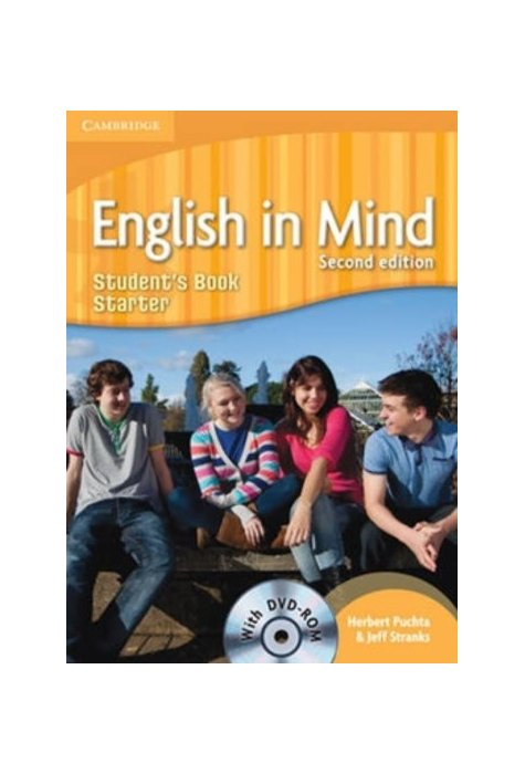 English in Mind Starter, Student's Book with DVD-ROM