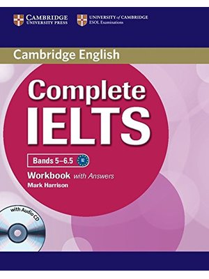 Complete IELTS Bands 5-6.5 Workbook with Answers with Audio CD