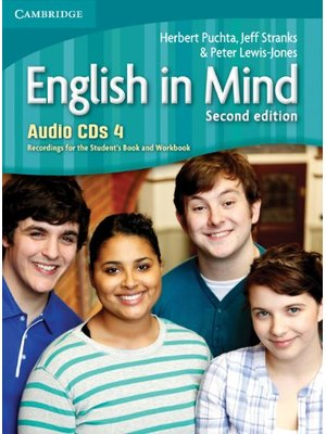 English in Mind Level 4, Audio CDs (4)