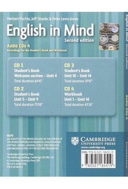 English in Mind Level 4 Audio CDs (4)