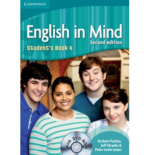English in Mind Level 4, Student's Book with DVD-ROM
