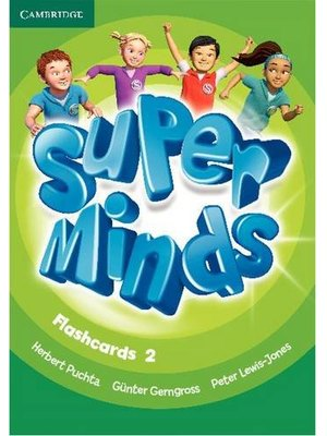 Super Minds Level 2 Flashcards (Pack of 103)