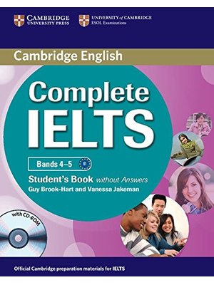Complete IELTS Bands 4-5, Student's Book without Answers with CD-ROM