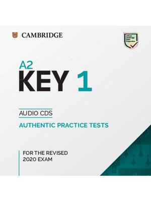 A2 Key 1 for the Revised 2020 Exam, Audio CDs
