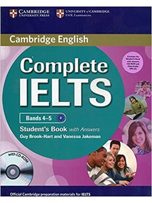 Complete IELTS Bands 4-5, Student's Pack (Student's Book with Answers with CD-ROM and Class Audio CDs (2))